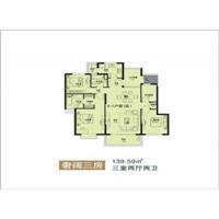 3室2厅2卫  139.59平米