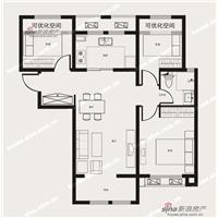 3室2厅1卫  89平米