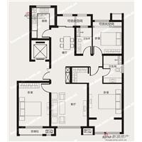 3室2厅2卫  134平米